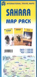 Sahara Map Pack by International Travel Maps