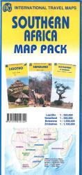 Southern Africa Map Pack by International Travel Maps
