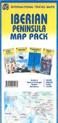 Iberian Peninsula Map Pack by International Travel Maps