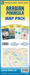 Arabian Peninsula Map Pack by International Travel Maps