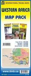 Western Africa Map Pack by International Travel Maps