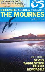 The Mournes - Sheet 29 by Ordnance Survey of Northern Ireland