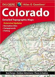 Colorado, Atlas and Gazetteer by DeLorme