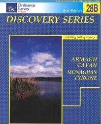 Armagh, Cavan, Monaghan, Tyrone, Ireland Discovery Series #28B by Ordnance Survey of Ireland