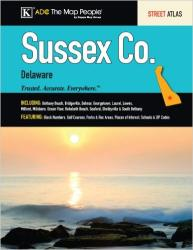 Sussex County, Delaware, Atlas by Kappa Map Group