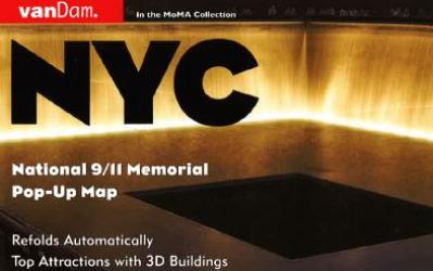 9/11 Memorial Map, PopOut by VanDam