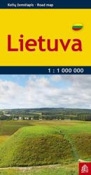 Lithuania, Pocket Road Map by Jana Seta