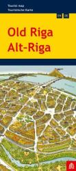 Riga (Old), Tourist Map by Jana Seta