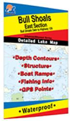 Bull Shoals-East (Bull Shoals Dam to Hwy 125 - MO/AR) Fishing Map by Fishing Hot Spots