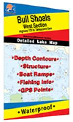 Bull Shoals-West (Hwy 125 to Taneycomo Dam - AR/MO) Fishing Map by Fishing Hot Spots