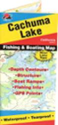 Cachuma Lake Fishing Map by Fishing Hot Spots