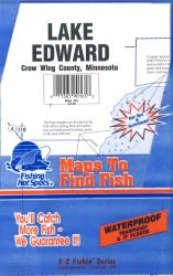 Lake Edward Fishing Map by Fishing Hot Spots