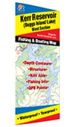 Kerr Reservoir (Buggs Island-West - VA/NC) Fishing Map by Fishing Hot Spots