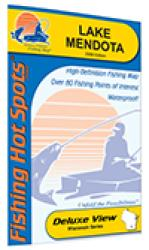 Lake Mendota Fishing Map (Dane Co) by Fishing Hot Spots