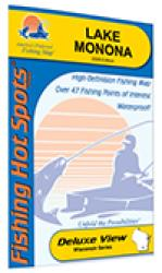 Lake Monona Fishing Map (Dane Co) by Fishing Hot Spots