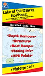 Lake of the Ozarks-Northeast (Milemarker 17 to Bagnell Dam) Fishing Map by Fishing Hot Spots