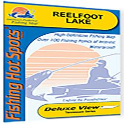 Reelfoot Lake Fishing Map by Fishing Hot Spots