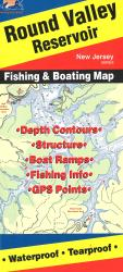 Round Valley Reservoir Fishing Map by Fishing Hot Spots