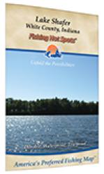 Lake Shafer Fishing Map by Fishing Hot Spots