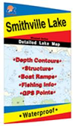 Smithville Lake Fishing Map by Fishing Hot Spots