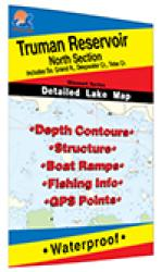 Truman Reservoir-North (North of Hwy 7) Fishing Map by Fishing Hot Spots