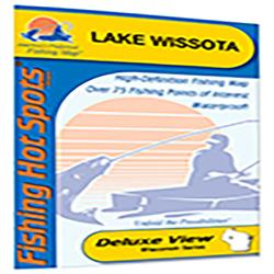Lake Wissota Fishing Map (Chippewa Co) by Fishing Hot Spots
