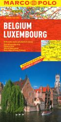 Belgium and Luxembourg by Marco Polo Travel Publishing Ltd