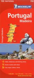 Portugal with Madeira (733) by Michelin