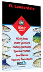 Ft. Lauderdale - Port Everglades to Boynton Beach Fishing Map by Fishing Hot Spots