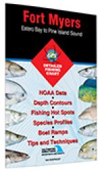 Fort Myers - Estero Bay to Pine Island Sound Fishing Map by Fishing Hot Spots