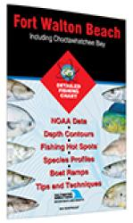 Ft. Walton Beach - Including Choctawhatchee Bay Fishing Map by Fishing Hot Spots