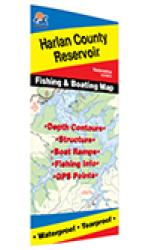 Harlan County Reservoir Fishing Map by Fishing Hot Spots