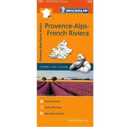 Cote d'Azur, Provence, and French Riviera (527) by Michelin Maps and Guides