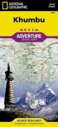 Khumbu, Nepal AdventureMap by National Geographic Maps
