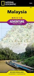 Malaysia Adventure Map 3021 by National Geographic Maps