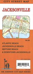 Jacksonville City Street Map by GM Johnson