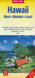 Hawaii Tourist Map by Nelles Verlag GmbH
