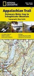 Appalachian Trail Map Guide, Delaware Water Gap to Schaghticoke Mountain by National Geographic Maps