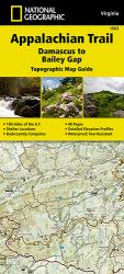 Appalachian Trail Map Guide, Damascus to Bailey Gap by National Geographic Maps