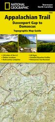Appalachian Trail Topographic Map Guide, Davenport Gap to Damascus by National Geographic Maps
