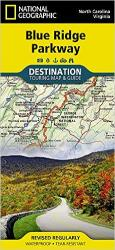 Blue Ridge Parkway Destination Map by National Geographic Maps