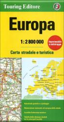 Europe Road Map by Touring Club Italiano