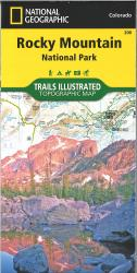Rocky Mountain National Park, Map 200 by National Geographic Maps