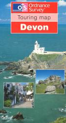Devon Touring Map by Ordnance Survey