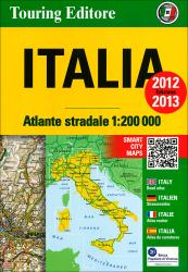 Italy, Road Atlas by Touring Club Italiano