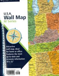 United States, M Series, Folded by Rand McNally