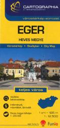Eger, Hungary by Cartographia