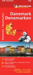Michelin: Denmark Road and Tourist Map by Michelin Travel Partner