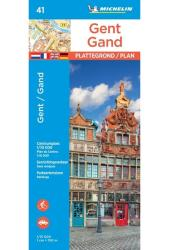 Ghent City Map by Michelin