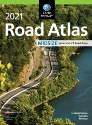 United States, Canada and Mexico, 2021 Midsize Road Atlas by Rand McNally